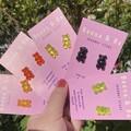 Gummi bear studs
