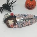 Spooky Clay Hair Clip