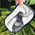 Bird with twig  plate