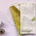 Fabric Bookmarks - Sewing in Green