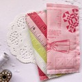 Fabric Bookmarks - Sewing in Pink