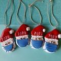 2020 Santa Christmas decoration