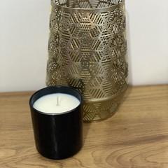 Medium Vogue Candle In Aqua Flower