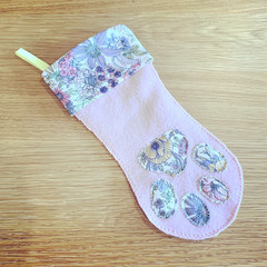 Dog Christmas Stocking, Pet Stocking, Pink Pet Stocking, Dog Stocking, Pet Stock