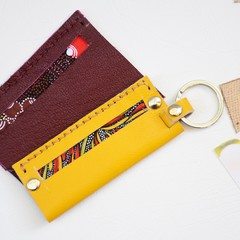 Gift for her/gift for women/gift for mom/birthday gift/leather keychain