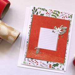 Card - Silver Christmas