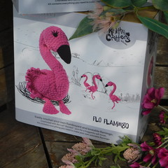 Knitty Critty Crochet Kit - Flo Flamingo
