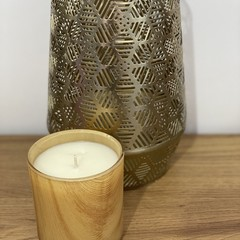 Medium Vogue Candle In Lemongrass & Ginger