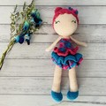 Crochet Doll, Hand Knitted Softie