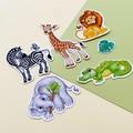 Safari animals die cut sticker pack, planner stickers, scrapbooking