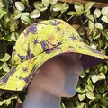 Ink Blot Summer Sun Hat