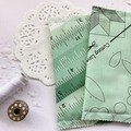 Fabric Bookmarks - Sewing in Blue