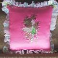 """""""Green Fairy"""" Cushion"""