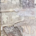 Botanically Printed Textile Bundle #2 - Slow Stitch, Textile Art