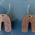 Sparkly Perspex Earrings