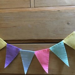 15cm Name Bunting - Handmade to order