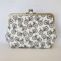 Clutch Purse - Retro Bicycle