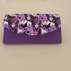 Necessary Clutch Wallet (NCW) Purple Disney Villainesses