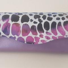 Necessary Clutch Wallet (NCW) - Rainbow Leopard