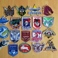 """""""Rugby"""" Iron-on Badge"""