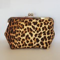 Clutch Purse - Leopard Print