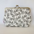 Clutch Purse - Retro Bicycle