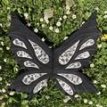Wearable Dark Fairy wings Halloween Costume