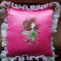 """Green Fairy"" Cushion"