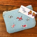 Dog Earring & Coin Purse Gift Set