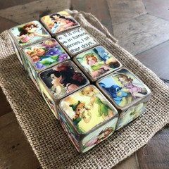Baby Decor Blocks - Fairies