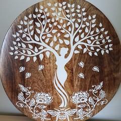 Wooden wall art - Queens of nature
