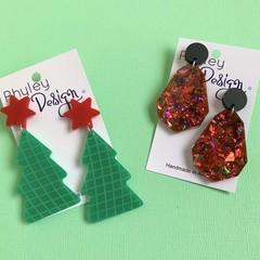 Fun Christmas Earrings