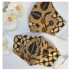 Traditional Indonesian Batik Face Mask - Batik Pekalongan