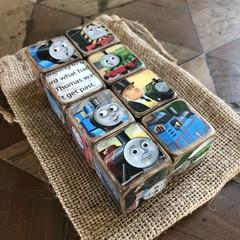 Baby Decor Blocks - Thomas and Friends