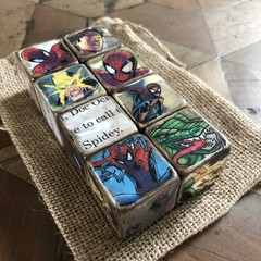 Baby Decor Blocks - Spider Man