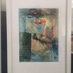 Abstract Mixed Media Art