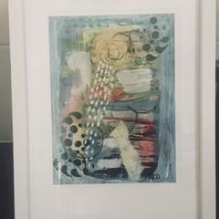 Framed Abstract Art