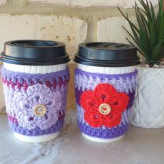 Cuppa clinger - Pretty Purples