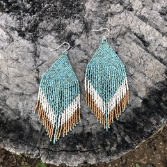 MADE TO ORDER Handmade drop earrings