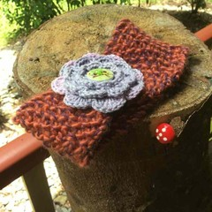 Rustic Headwrap for child/ baby/reborn baby