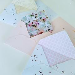 The Petals Trio - Handmade Stationery