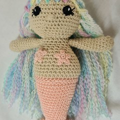 Hand Crocheted Mermaids