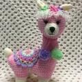 Llama: READY TO POST, Crochet Toy, Girl Gift