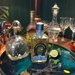 Tequila Bar Tray Table