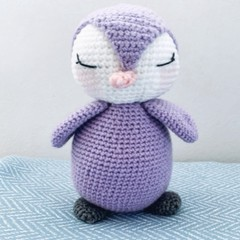 Crochet Penguin, amigurumi,hand made, stuffed toy