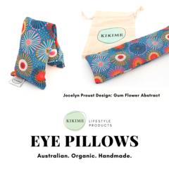 KIKIME Eye Pillows - Design: Gum Flower Abstract