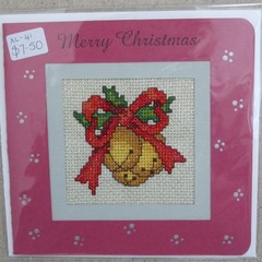 Assorted Cross Stitch Christmas Cards