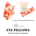 KIKIME Eye Pillows - Design: Native Bouquet Cream