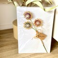 Twine Flower Stem Rustic Home Cottage Decor Teacher Thank You Gift