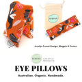 KIKIME Eye Pillows - Design: Magpie & Protea